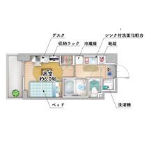 カレッジコート宮崎台地図