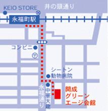 開成グリーンエージ会館地図