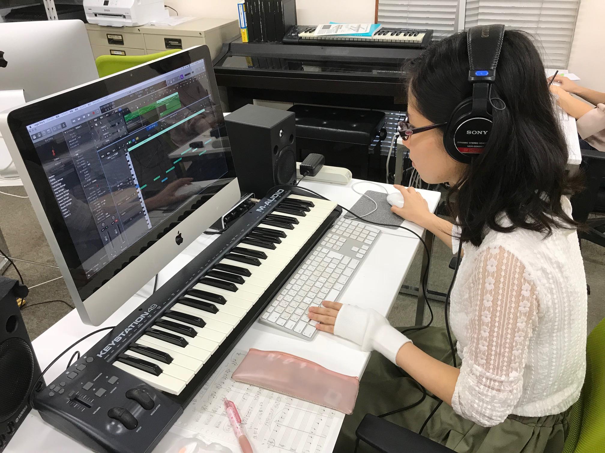 コンピュータミュージック授業の...